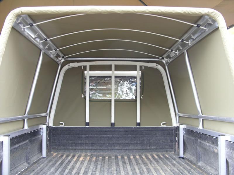 Contractor Canopies Custom Built Canvas Canopies