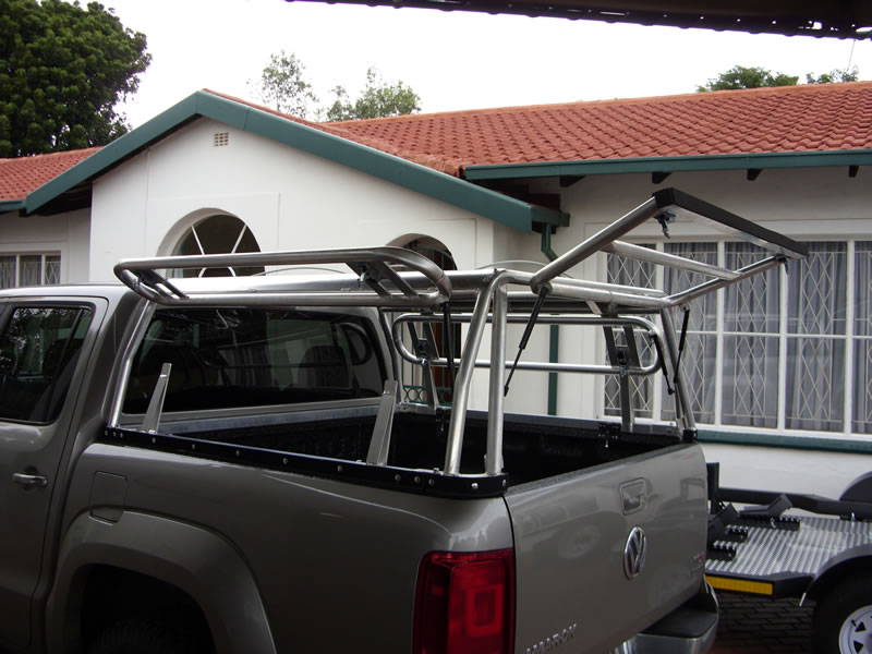 Modular prototype canopies VW Amarok, Ford F250 USA ...
