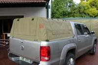Modular prototype canopies VW Amarok, Ford F250 USA,