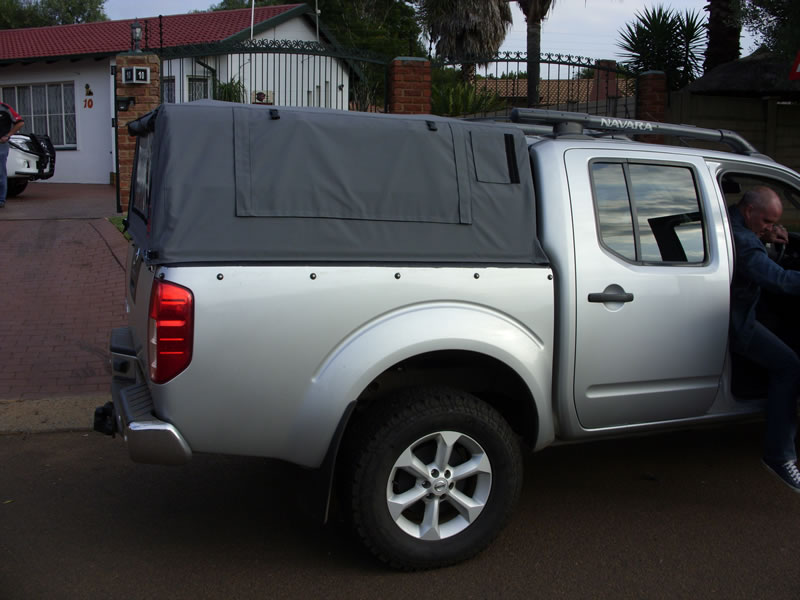 Nissan Navara. Return to Canopies Gallery & Nissan Navara - Custom Built Canvas Canopies