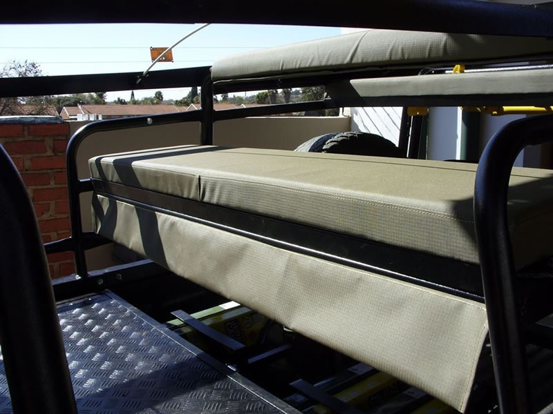 Canvas Seat Covers >> Hunting Frame Toyota Land Cruiser SC - Custom Built Canvas ...