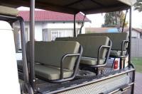 Land Cruiser Game Viewer Seats & Roof