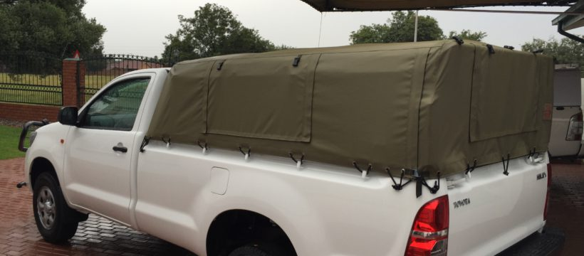 custom built canvas canopy & Quality canopies for your bakkie | Custom Built Canvas Canopies