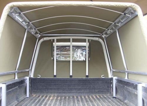 Custom contractors canopy