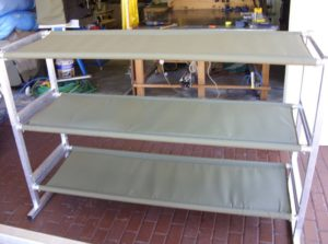 Custom Built Canvas Canopies Camping Beds