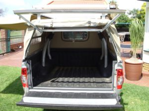 Custom Built Canvas Canopies Dustproof Bakkie